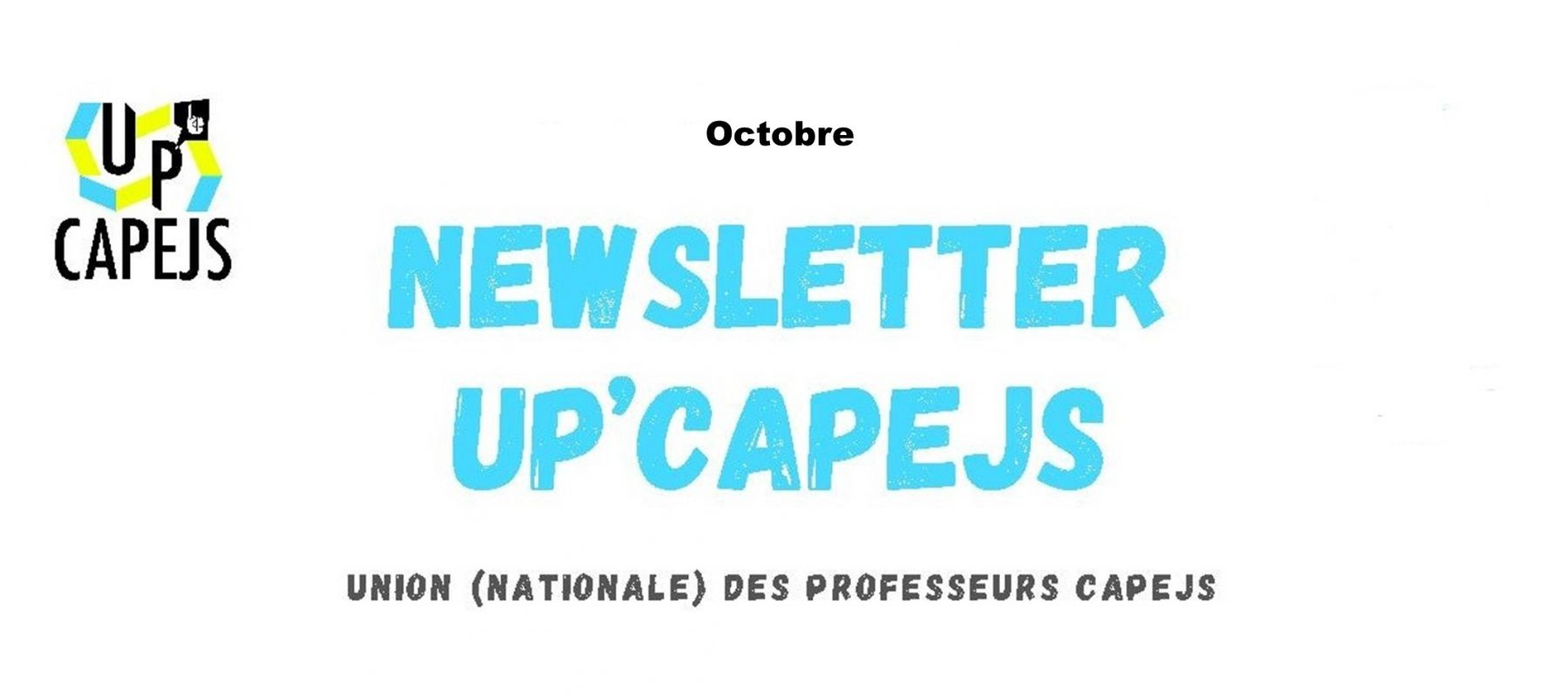 Newsletter d'octobre 2021